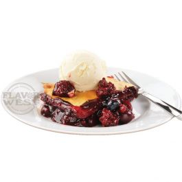 Wild Berry Cobbler ala Mode